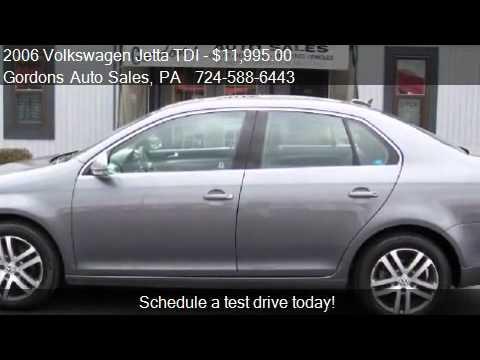 2006 Volkswagen Jetta TDI SEDAN - for sale in Greenville,