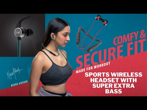 boAt Rockerz 255 Sports Wireless Headset with Super Extra Bass | boat bluetooth earphone unboxing