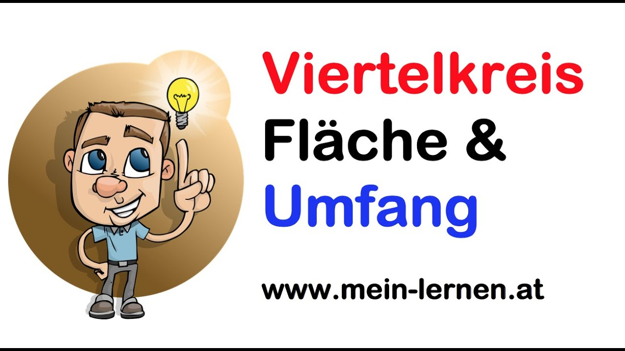 viertelkreis fl cheninhalt und umfang bung 1 youtube. Black Bedroom Furniture Sets. Home Design Ideas