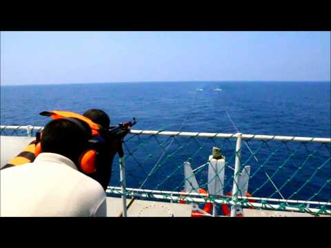 Live firing training sessions for sea marshals - RALL Anti Piracy Training