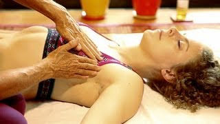 Repeat youtube video Lymph Drainage Breast Massage Therapy Technique How To, Athena Jezik Psychetruth