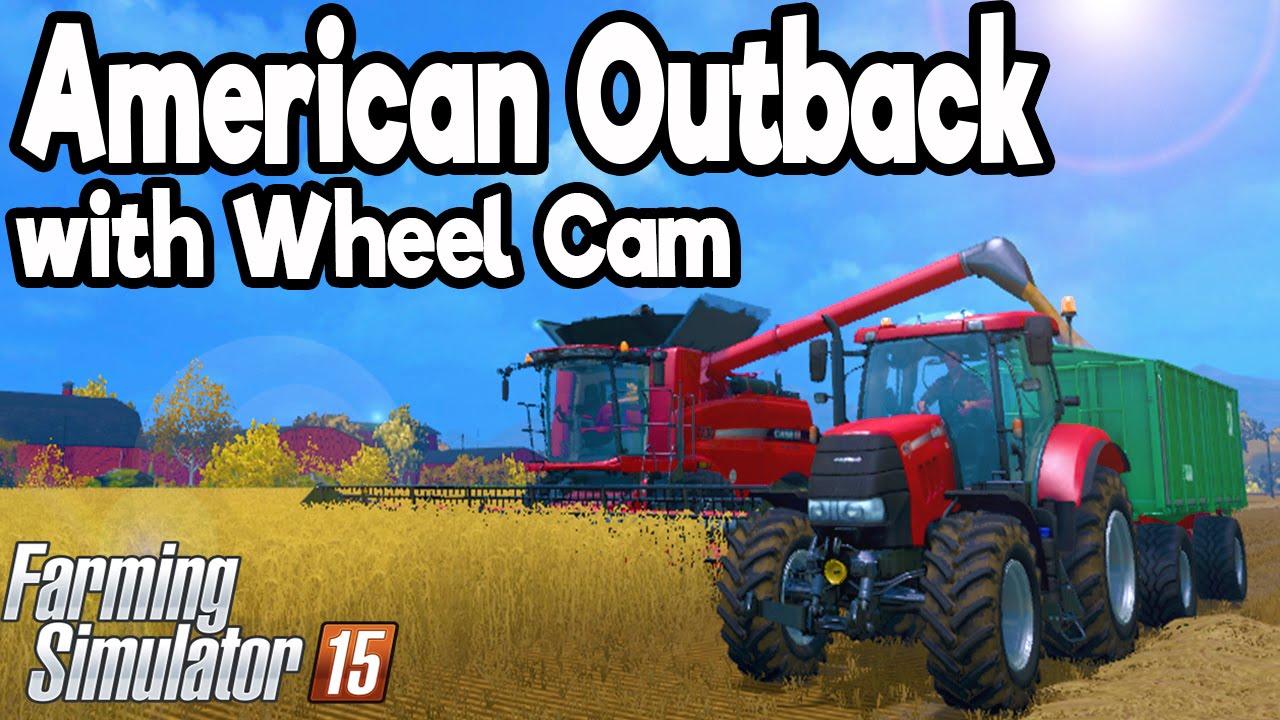 American Outback Mod Map Farming Simulator 2015 BEST AMERICAN
