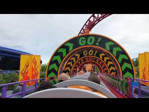 Slinky Dog Dash Ride OPENING DAY!