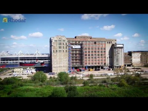 rhodar-asbestos-removal-project:-millennium-mills,-silvertown---london