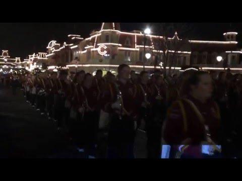 Stow Munroe Falls High School Marching Band Disney 2016