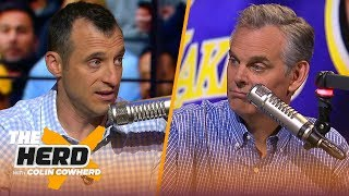 Doug Gottlieb says Knicks need KD, chooses D-Wade over Dirk & talks Lakers turmoil | NBA | THE HERD