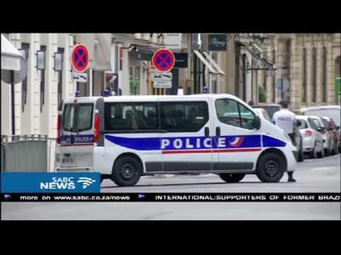 Trump arrives in Paris, to meet France's new leader Macron