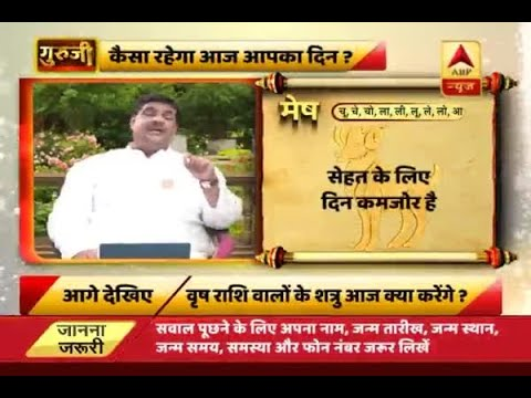 Daily Horoscope with Pawan Sinha: Weak day in terms of health for Aries