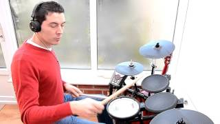 Simple Red-Stars drum cover Roland td 11 Andre Carvalho