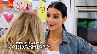 KUWTK | Kim K. Dishes on Caitlyn Jenner's