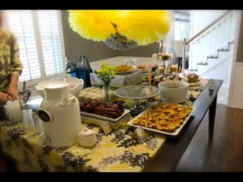 brunch decorating ideas party decoration youtube diy brunch decorating ideas for baby shower