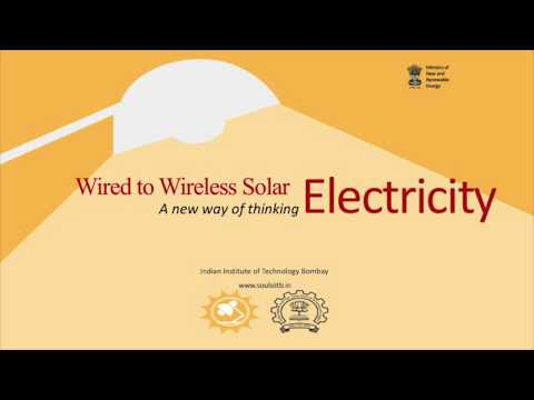 Talk conducted by Prof. Chetan Singh Solanki, IIT-Bombay- Wired to Wireless Electricity