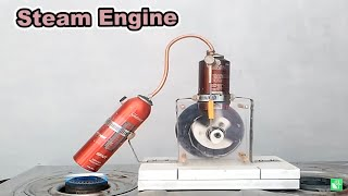 How to Make Steam Engine | DIY Tutorial
