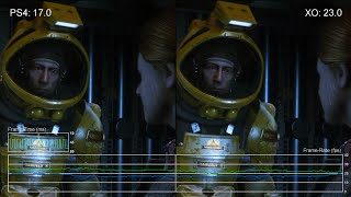 Alien: Isolation - PS4 vs Xbox One Cut-Scene Frame-Rate Tests
