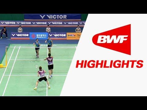 Victor Korea Masters 2017 | Badminton SF – Highlights