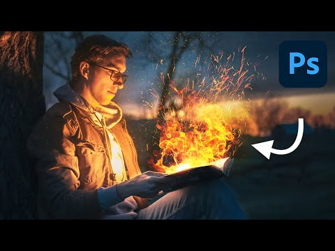 How to Create Realistic Fire in Photoshop