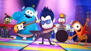 Funny Animated Cartoon | Spookiz | Rock Concert | 스푸키즈 | Kids Cartoons | Videos for Kids