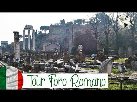 Tour Foro Romano - Roman Forum y Palatino. Roma 2013