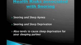 How to Stop Snoring Naturally- Snoring Remedies