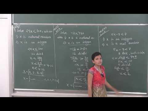 MATHS-XI-6-02 Exercise on linear inequalities(2016) By Swati Mishra, Pradeep Kshetrapal channel
