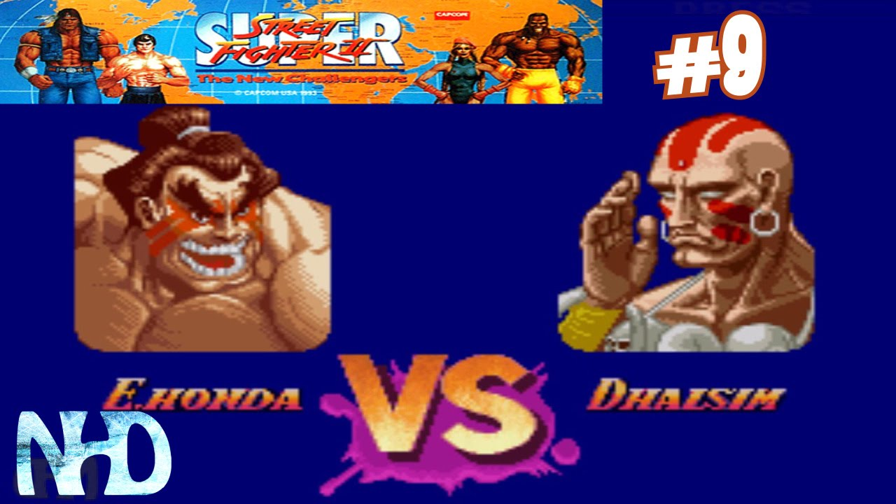 Let S Play Street Fighter 2 Tnc E Honda Stage 9 Vs Dhalsim