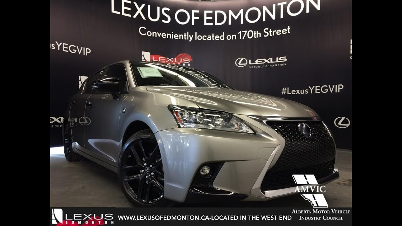Lexus Ct Hybrid Special Edition F Sport Series Review