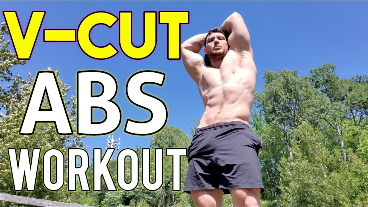 Outdoor V-Cut Abs Workout