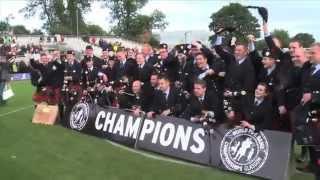 2014 World Pipe Band Champions: Field Marshal Montgomery