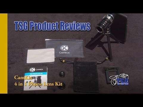 * Apple iPhone 6 and 6s 4-in-1 Lens Kit CamKix Product Review