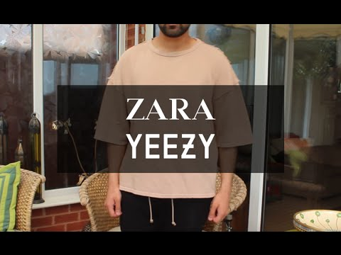 3df92c793 Zara s Cheap Yeezy season 1 alternative - YouTube