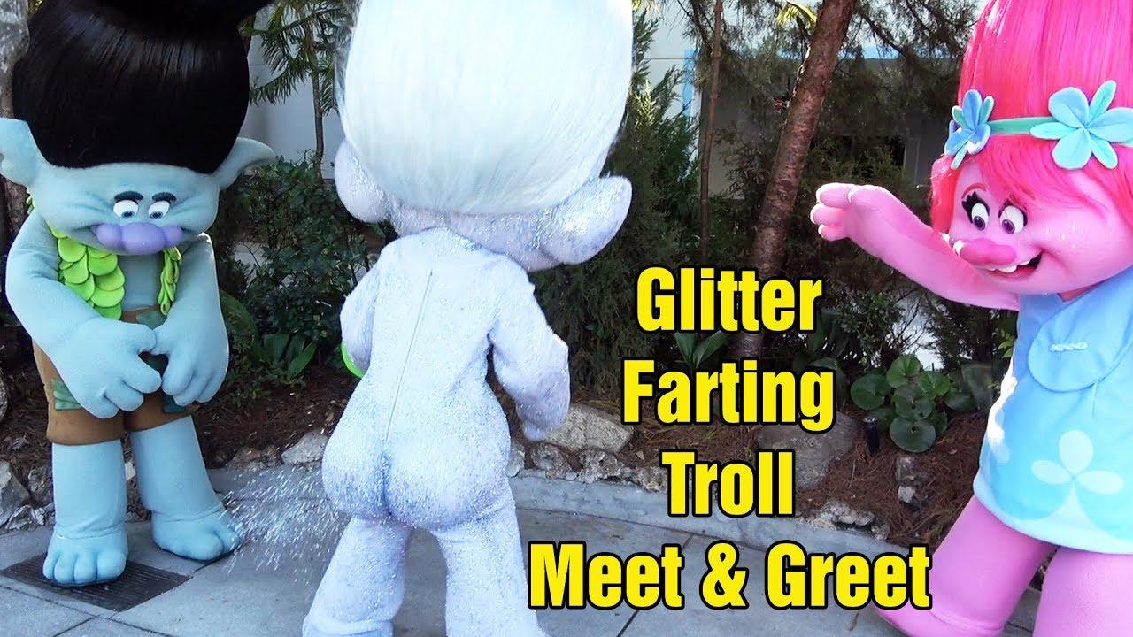 Trolls Doll Guy Diamond Glitter Doll Dreamworld Kids Toy
