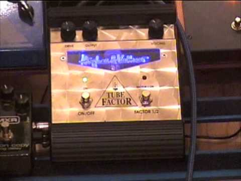 Hughes And Kettner Tube Factor Overdrive Guitar Pedal Demo