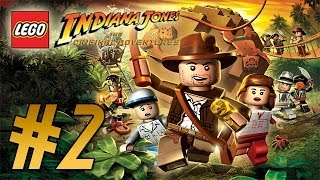 LEGO: Indiana Jones (Original Adventures) Into the Mountains - Part 2 Walkthrough