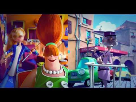 Phim hoạt hình hài hước  'Adult'hair