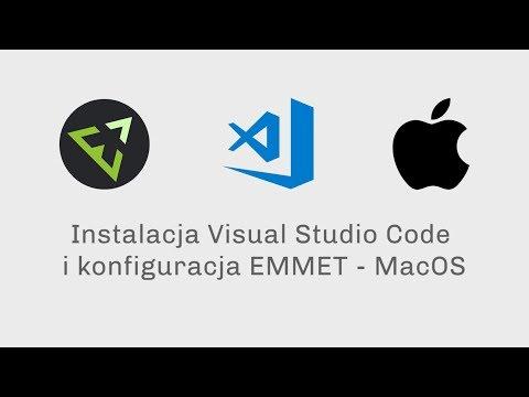 Instalacja Visual Studio Code I Konfiguracja EMMET - MacOS
