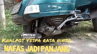Download Lagu Knalpot Vespa rasa ninja // Unboxing jet exhaust mp3