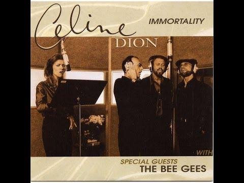 Immortality - Celine Dion ft. Bee Gees (Lyrics MV)