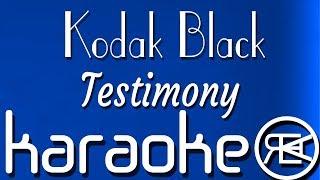 Kodak Black - Testimony | Karaoke Lyrics Instrumental