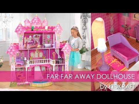 Girl's Pink Far Far Away Dollhouse - Toy Review