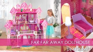 Girl's Pink Far Far Away Dollhouse - Toy Review