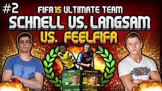 FIFA 15 - SCHNELL VS LANGSAM CHALLENGE - FeelFIFA vs. FifaGoalsUnited #2 [FACECAM]
