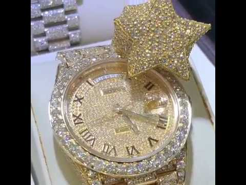 A variety of Diamond Watches and Diamond Rings by TraxNYC