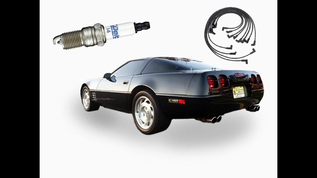 how to change the spark plugs and wires in a corvette [ 1280 x 720 Pixel ]