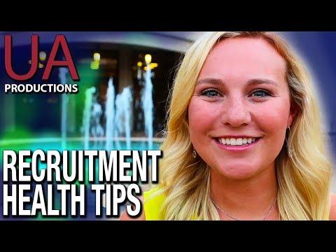 Greek Life | Recruitment Health Tips | University of Arkansas
