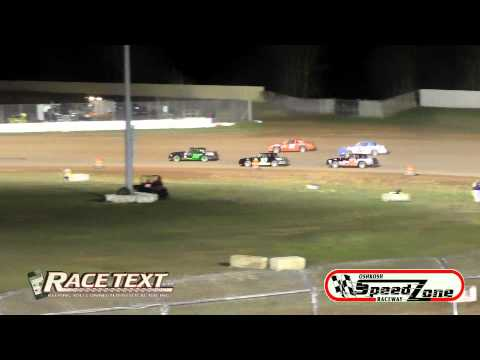 Oshkosh Speedzone Raceway 4-25-2014 - Street Stocks