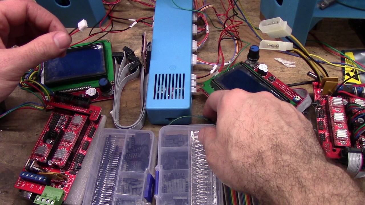 Ramps 1 4 basics part 2 wiring - YouTube on