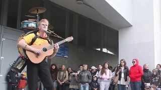 One Man Band Street Performer