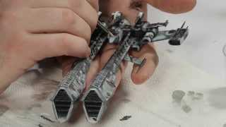 How to paint your EVE Online Rifter model kit from SMTS
