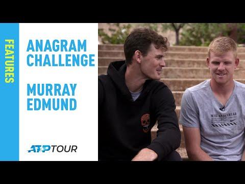Murray & Edmund Take On The ATP Anagram Challenge