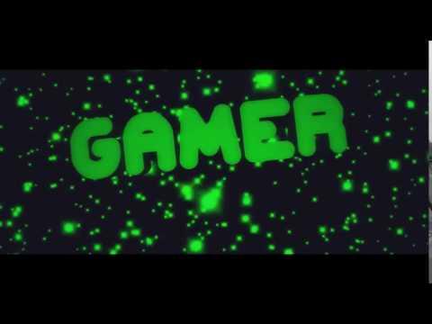 Интро с надписью gamer
